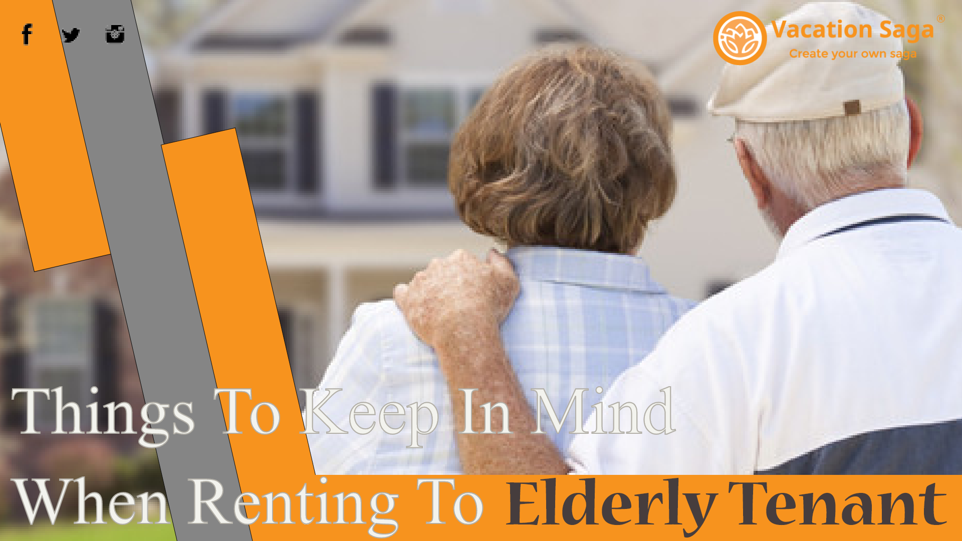 Things To Keep In Mind When Renting To Elderly Tenant